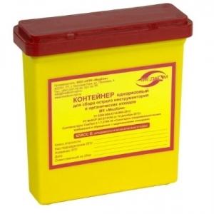 Емкости-контейнеры для острого инструментария
