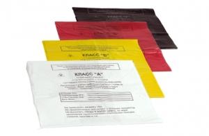 Пакет для утилизации отходов. Классы А, Б, В, Г 330*300 мм