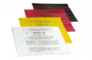 Пакет для утилизации отходов. Классы А, Б, В, Г 600*1000 мм